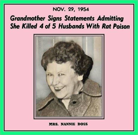 Nannie Doss The Unknown History of MISANDRY Nannie Doss Lonely Hearts Serial