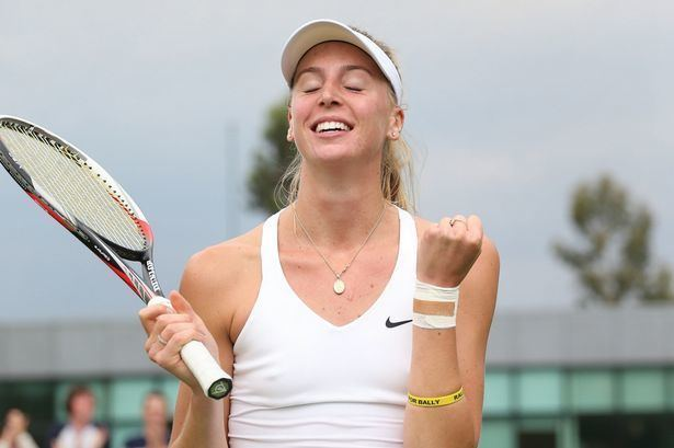 Naomi Broady Naomi Broady Tennis Wimbledon Broady wins first ever