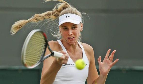 Naomi Broady Naomi Broady falls back in love with the game as Brit