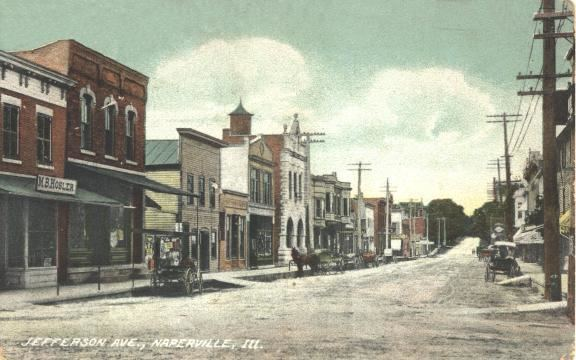 Naperville, Illinois in the past, History of Naperville, Illinois
