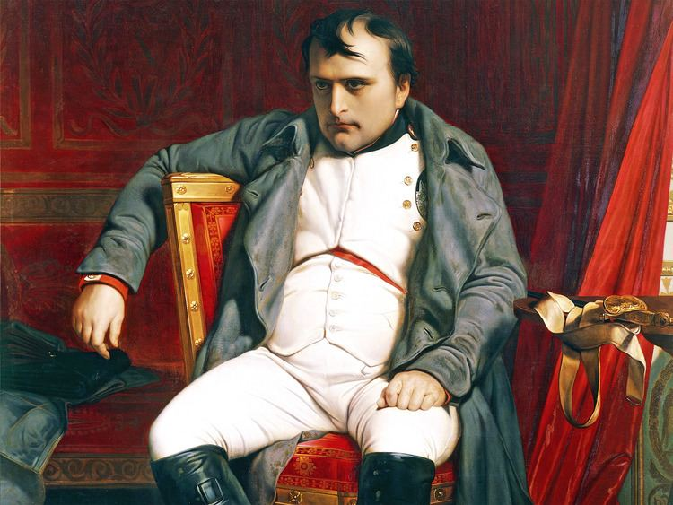 Napoleon Defeated and inglorious Why is Napoleon not treated with