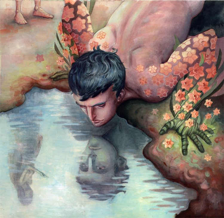 Narcissus (mythology) NarcissusbyBiffnojpg