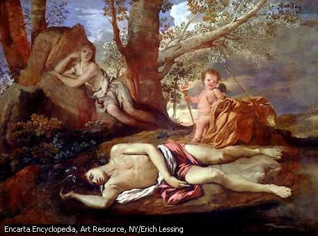 Narcissus (mythology) Story of Echo and Narcissus