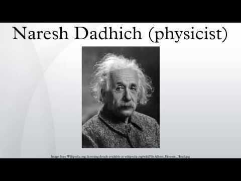 Naresh Dadhich (physicist) Naresh Dadhich physicist YouTube