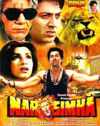 Narsimha 1991 Hindi 480p HDRip 500mb