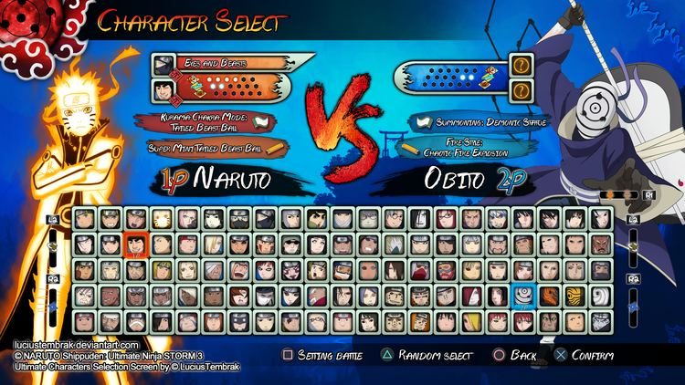 Naruto shippuden ultimate ninja storm 3 how to unlock last 7