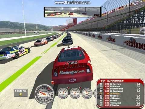 Nascar racing 2003 season gameplay joe gibbs international raceway epic  fails