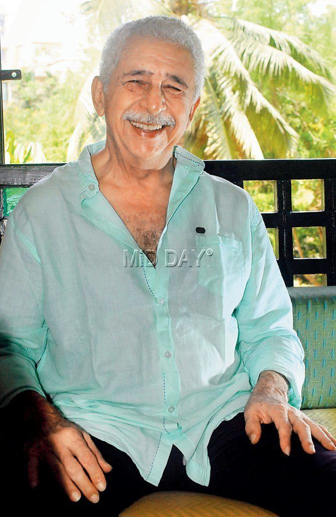 Naseeruddin Shah I dont believe an actor can become a character Naseeruddin Shah
