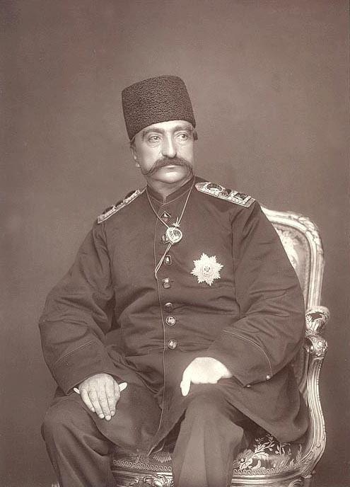 Naser al-Din Shah Qajar A SHAH FOR SALE