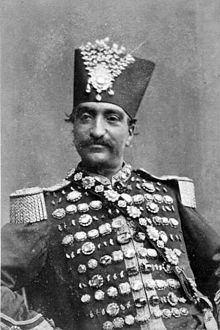 Naser al-Din Shah Qajar uploadwikimediaorgwikipediacommonsthumb33f