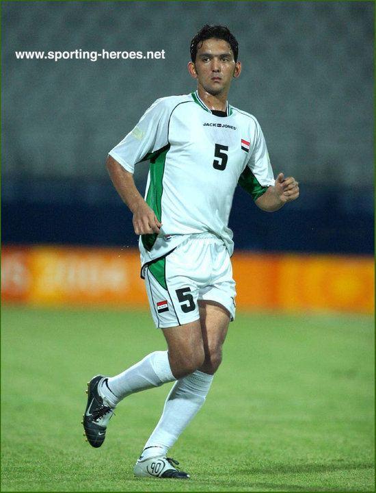 Nashat Akram Nashat Akram Olympic Games 2004 Iraq