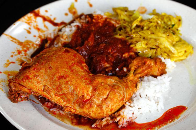 Nasi kandar Line Clear Nasi Kandar Restaurant Kampung Baru KL