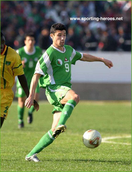 Nassim Akrour Nassim Akrour Coupe dAfrique des Nations 2004 Algerie