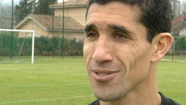 Nassim Akrour Football Grenoble Nassim Akrour vtran du GF38