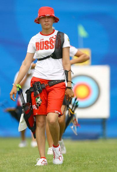 Natalia Erdyniyeva Natalia Erdyniyeva Photos Photos Olympics Day 1 Archery Zimbio