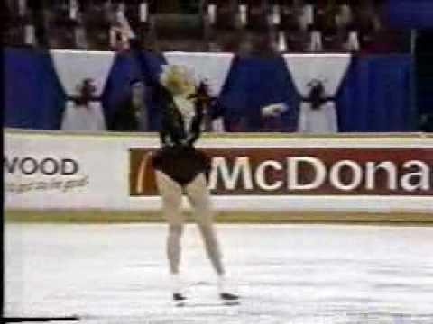 Natalia Skrabnevskaya Natalia Skrabnevskaya URS 1987 World Juniors Ladies Long
