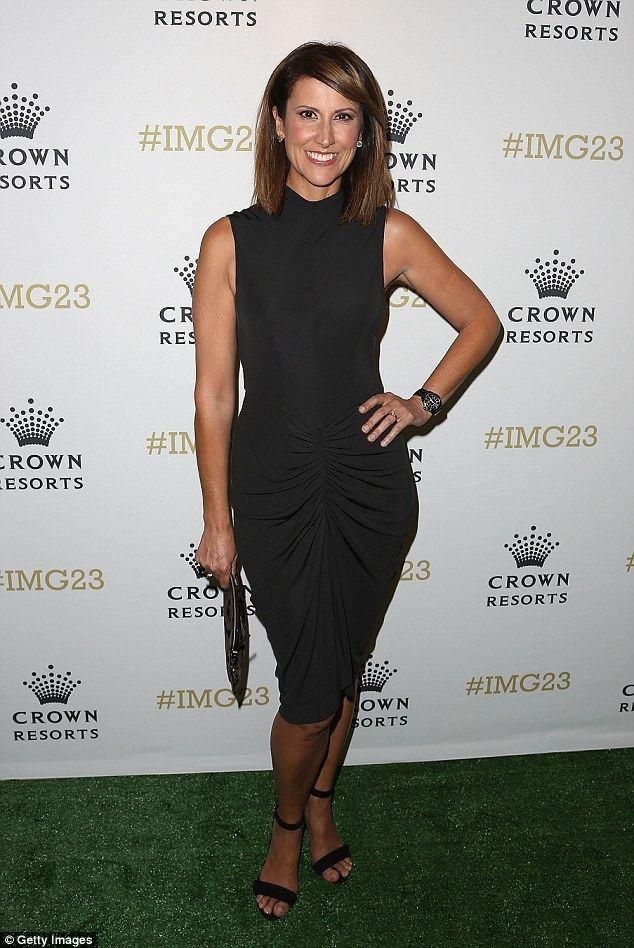 Natalie Barr Sunrise39s Natalie Barr frets her return to work at Tennis