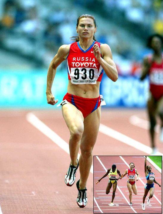 Natalya Nazarova Natalya Nazarova 2003 World Champs 4x400m silver result