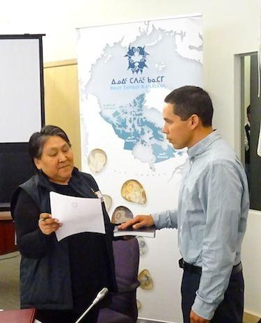 Natan Obed NunatsiaqOnline 20150917 NEWS National Inuit org elects a new