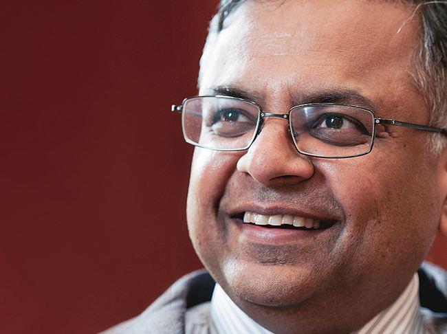 Natarajan Chandrasekaran TCS CEO Chandrasekaran on changing nature of his business