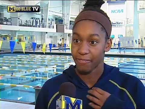 Natasha Moodie Michigan Senior Swimmer Natasha Moodie YouTube