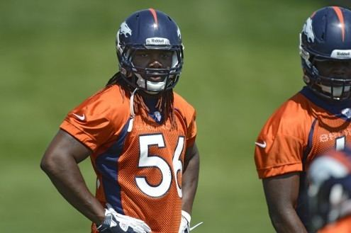Nate Irving Nate Irving young inexpensive option at linebacker for