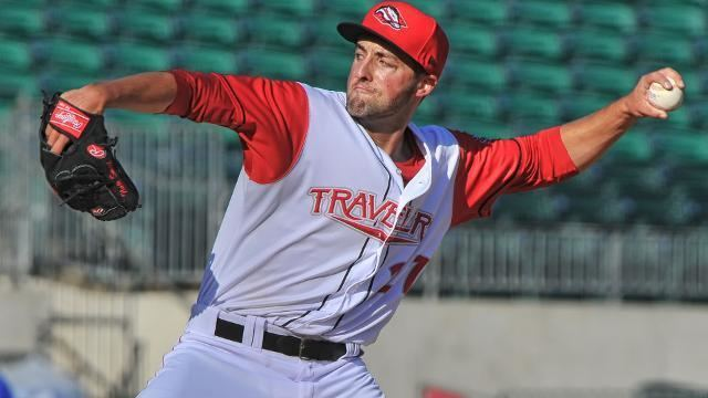 Nate Smith (baseball) Smith dominates in return to Travelers MiLBcom