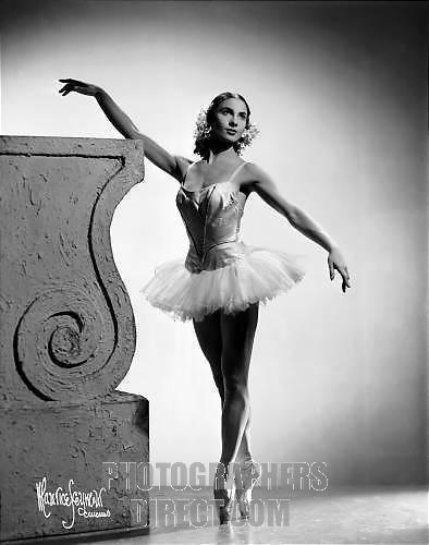 Nathalie Krassovska Nathalie Krassovska dancing with Ballets Russes de Monte Carlo