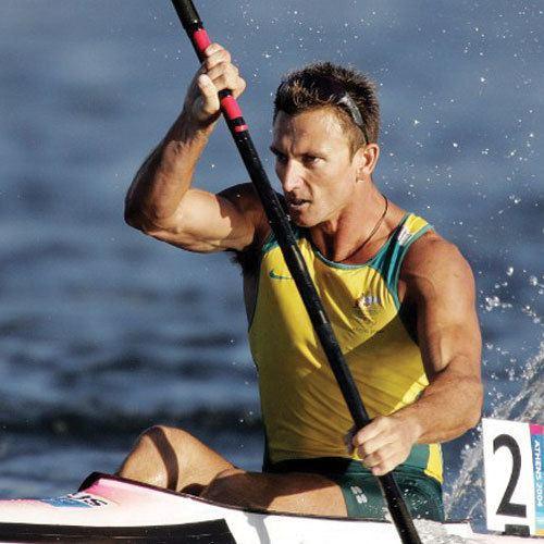 Nathan Baggaley Australian Olympic medalist kayaker Nathan Baggaley