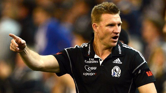 Nathan Buckley We39re stronger now Collingwood coach Nathan Buckley warns