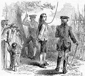 Nathan Hale A Time for Heroes The Story of Nathan Hale Archiving Early America