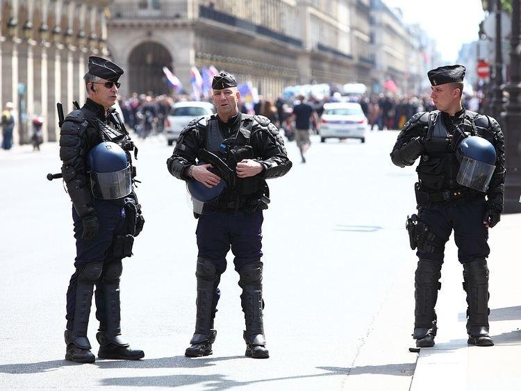 National Gendarmerie The National Gendarmerie Intervention Group deployed throughout