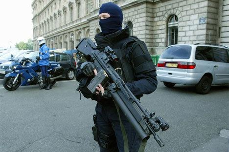 National Gendarmerie National gendarmerie intervention group boosted in Strength by