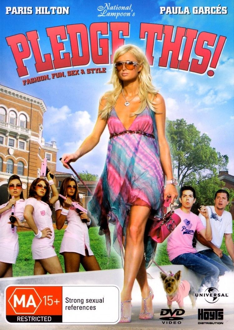National Lampoon's Pledge This! Pledge This 2006 A zero star review FILM GRIMOIRE