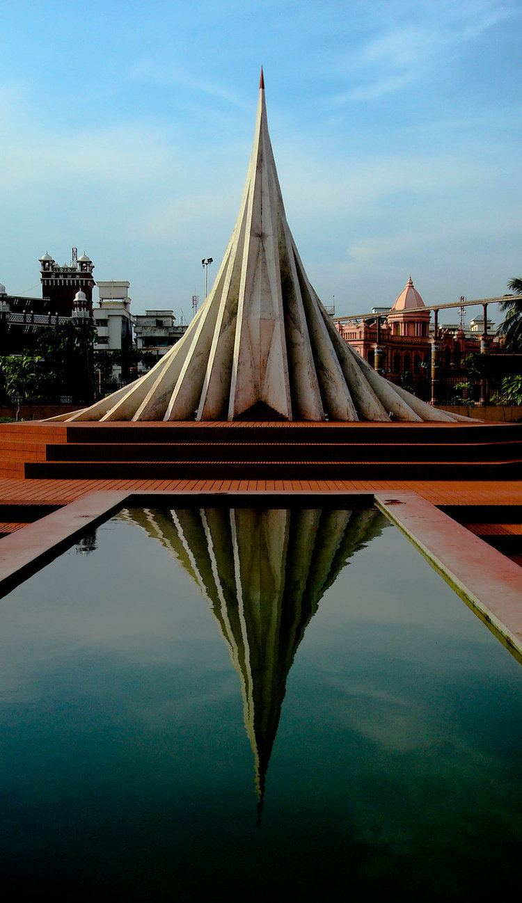 National Martyrs' Memorial Monument to a Monument by akib99 on DeviantArt