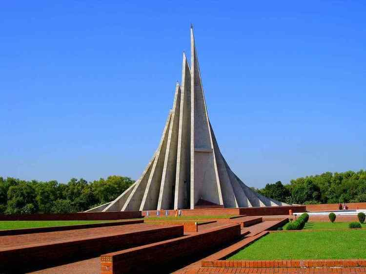 National Martyrs' Memorial Jatiyo Smriti Soudho Historical Facts and Pictures The History Hub