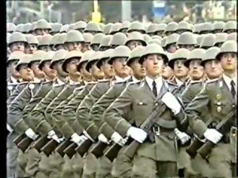 National People's Army East German Military Parade 1989 Ehrenparade der NVA 1949 1989 Part