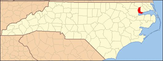 National Register of Historic Places listings in Chowan County, North Carolina