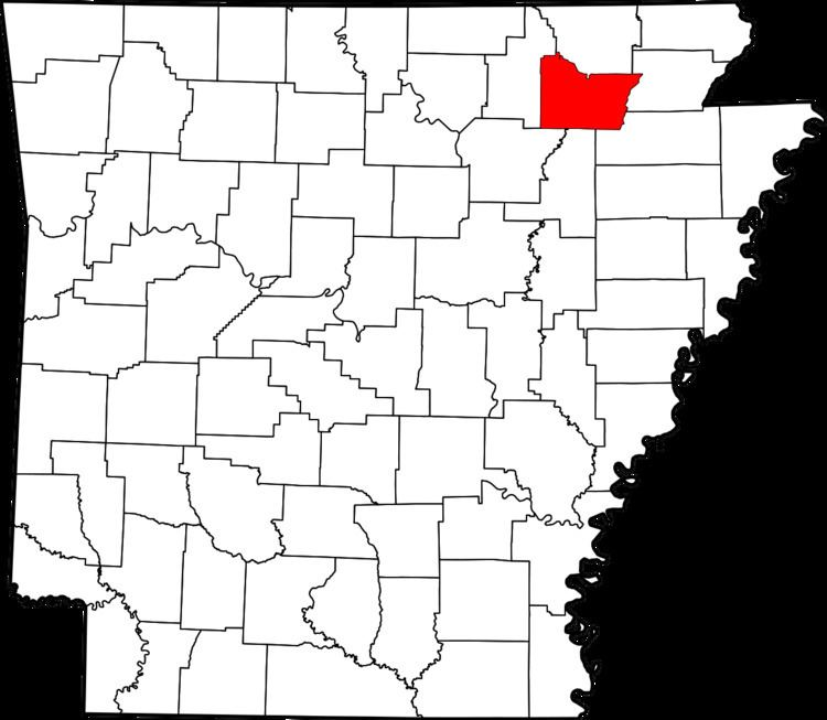 National Register of Historic Places listings in Lawrence County, Arkansas