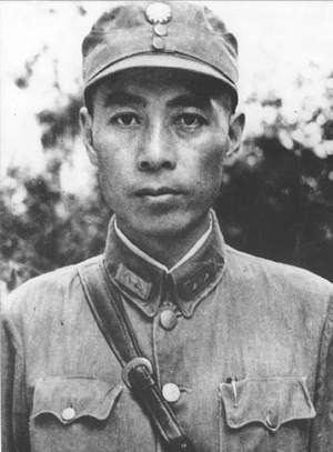 National Revolutionary Army File1930s Zhou Enlai in National Revolutionary Army uniformjpg