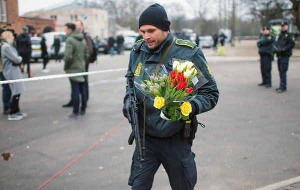 Native Son (2010 film) movie scenes A police officer on Sunday places flowers near the scene of a shooting at a cafe in Copenhagen Credit Hannibal Hanschke Reuters