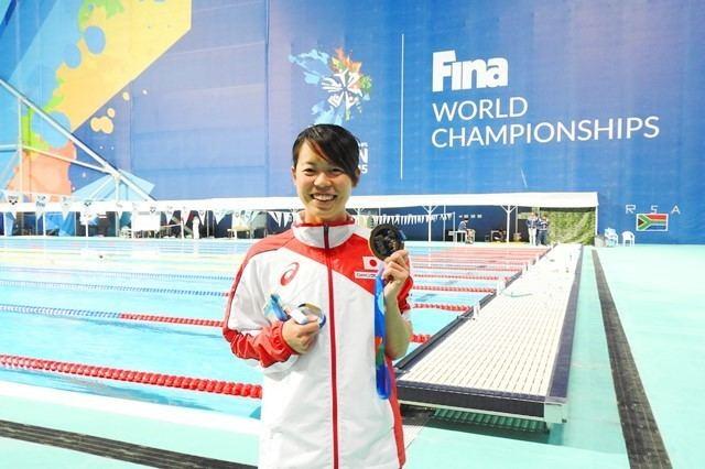 Natsumi Hoshi Alumna Natsumi Hoshi wins gold medal at World Swimming Championships