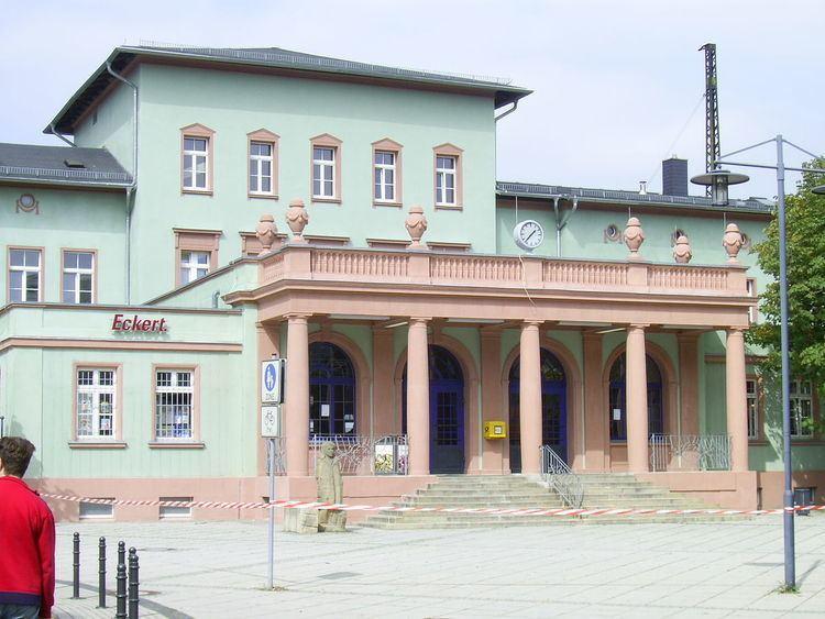Naumburg (Saale) Hauptbahnhof