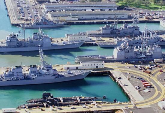Naval Station Pearl Harbor NS Pearl Harbor Navy Base in Oahu HI Complete info reviews map