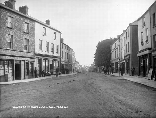Navan in the past, History of Navan