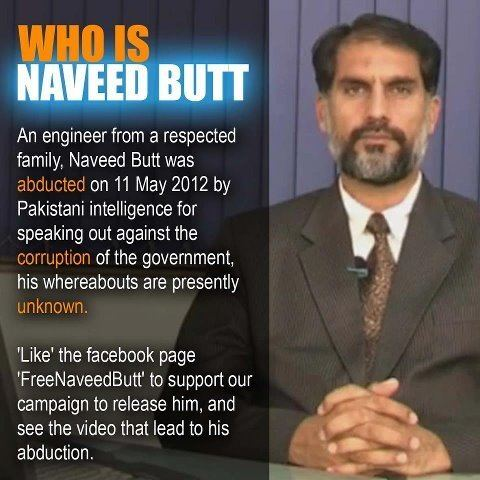 Naveed Butt Free Naveed Butt Campaign Hizb utTahrir Wilayah Pakistan