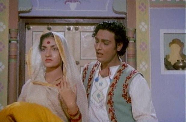 Navrang movie scenes However whenever he wishes for her to dress up she shuns his advances but an imaginary muse very much like his wife called Mohini help bring his fantasies