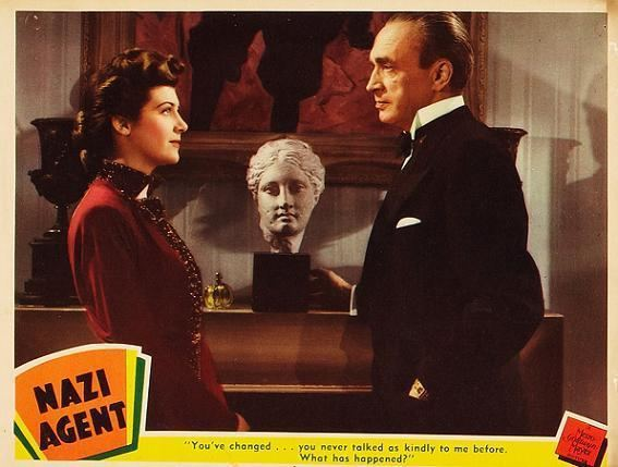 Nazi Agent Nazi Agent 1942 Reflections on Working with Conrad Veidt The Skeins