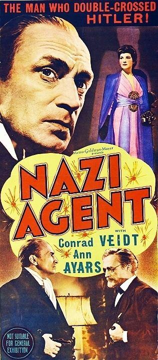 Nazi Agent Nazi Agent 1942 Jules Dassin Conrad Veidt Ann Ayars Frank