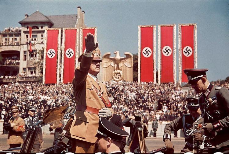 Nazi Germany Color photos from prewar Nazi Germany